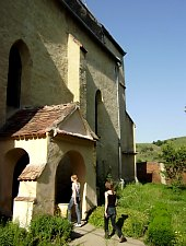 Ighiș, Biserica evanghelică fortificată fortificată, Foto: Fejes István