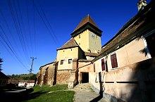 Szászivánfalva, Evangélikus erődtemplom, Fotó: Tudor Seulean
