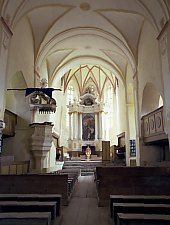 Szászszentlászló, Evangélikus templom, Fotó: Hermann Fabini