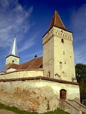 Moșna, Evangelical fortified church, Photo: Yasmina Minulescu