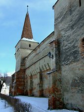 Moșna, Evangelical fortified church, Photo: Cătălin Nenciu