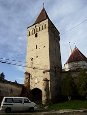 Moșna, Evangelical fortified church, Photo: Fejes István