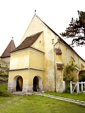 Motiș, Evangelical fortified church, Photo: Hermann Fabini