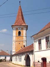 Motiș, Evangelical fortified church, Photo: Ana Pavel