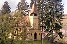 Evangelical fortified church, Păucea , Photo: Hermann Fabini