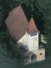 Evangelical fortified church, Păucea , Photo: Georg Gerster