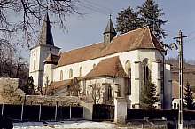 Evangelical fortified church, Richiș , Photo: Hermann Fabini