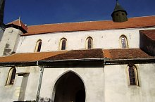 Evangelical fortified church, Richiș , Photo: Fejes István
