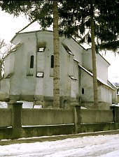 Evangelical fortified church, Roandola , Photo: Hermann Fabini