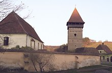 Evangelical fortified church, Seleuș , Photo: Hermann Fabini