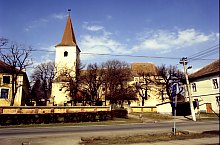 Evangelical fortified church, Sura Mare , Photo: Hermann Fabini
