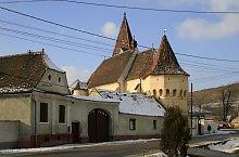 Evangélikus erődtemplom, Nagyekemező , Fotó: Tudor Seulean