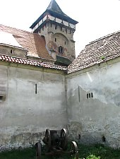 Valea Viilor, Evangelical fortified church, Photo: Jakabffy Tamás