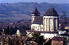 Valea Viilor, Biserica Evanghelică fortificată, Foto: Hermann Fabini
