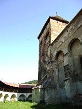 Valea Viilor, Evangelical fortified church, Photo: Fejes István