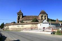 Nagybaromlaka, Evangélikus erődtemplom, Fotó: Tudor Seulean