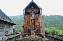 Berbești, Crucifix, Foto: Țecu Mircea Rareș
