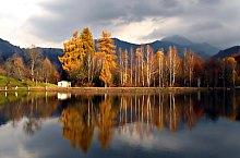 Lacul Bodi Mogosa, DN18 Sighetu Marmatiei-Baia Mare, Foto: Mircea Roșu