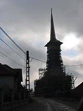 Fejérfalva, Fatemplom, Fotó: Țecu Mircea Rareș
