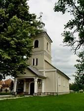 Orthodox church, Bușag , Photo: WR