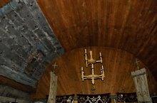 Biserica de lemn, Culcea , Foto: WR