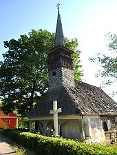 Wooden church, Buteasa , Photo: WR