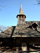 Wooden church, Bocșița , Photo: WR
