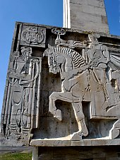 Monumentul Mihai Viteazul, Guruslau , Foto: WR