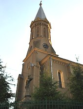 Catholic church, Tășnad , Photo: WR