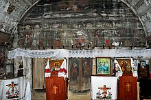Wooden church, Berindu , Photo: WR