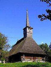 Biserica de lemn, Brebi , Foto: Bogdan Ilieș