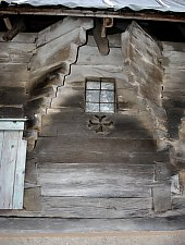 Wooden church, Brusturi , Photo: WR