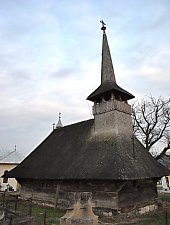 Wooden church, Creaca , Photo: WR