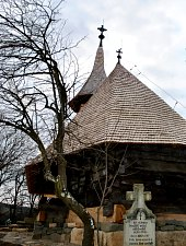 Wooden church, Jac , Photo: WR