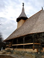 Wooden church, Jac , Photo: WR