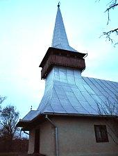 Wooden church, Mihăiești , Photo: WR