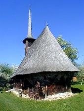 Wooden church, Păușa , Photo: Valeria Lehene