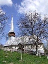 Wooden church, Răstolț , Photo: Bogdan Ilieș