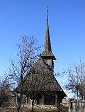 Biserica de lemn, Salistea Noua , Foto: Bogdan Ilieș