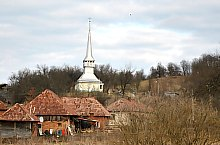 Wooden church, Bercea , Photo: WR