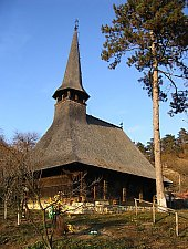 Wooden church, Cehei , Photo: Bogdan Ilieș