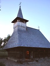Wooden church, Sârbi , Photo: WR