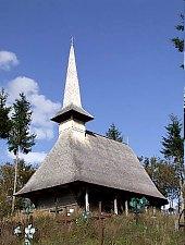 Biserica de lemn, Tusa , Foto: Bogdan Ilieș