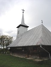 Wooden church, Bârsa