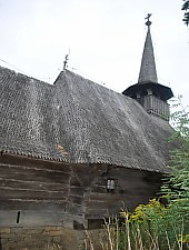 Wooden church, Borza , Photo: WR