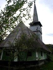 Wooden church, Cuciulat , Photo: WR