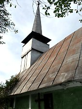 Ciula, Wooden church, Photo: WR