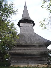 Wooden church, Domnin