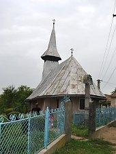 Wooden church, Husia , Photo: WR