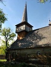 Wooden church, Letca , Photo: WR